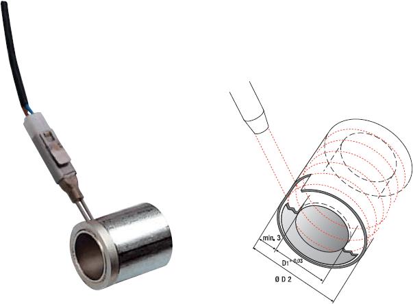 Düsenheizelemente & Rohrpatronen-Hohlpatronen HP